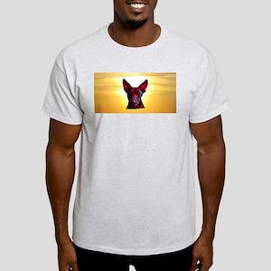 The Day Glow Dog at Sunset Light T-Shirt