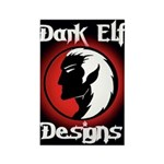 Dark Elf Designs - Rectangle Magnet (100 pack)