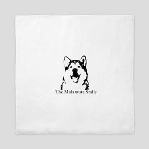 The Malamute Smile Queen Duvet