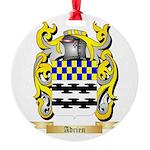 Adrien Round Ornament