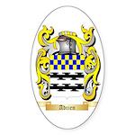 Adrien Sticker (Oval 10 pk)