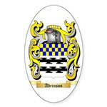 Adrinson Sticker (Oval 10 pk)