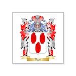 Agar Square Sticker 3