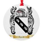 Agard Round Ornament