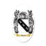 Agard Oval Car Magnet