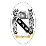 Agard Sticker (Oval)
