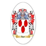 Ager Sticker (Oval 10 pk)