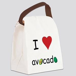 avocado Canvas Lunch Bag