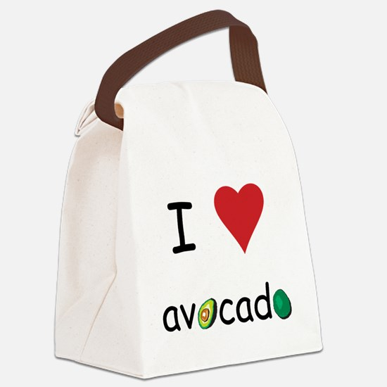 avocado.png Canvas Lunch Bag