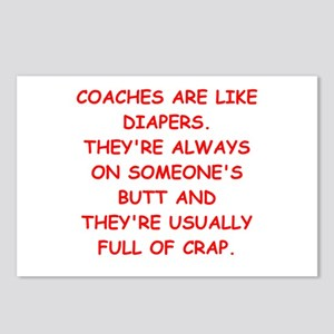 coaches Postcards (Package of 8)