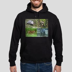 Michigan Animals Hoodie (dark)