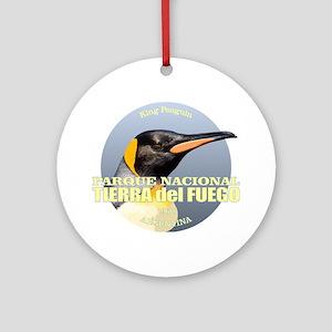 Tierra del Fuego NP Round Ornament