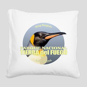Tierra del Fuego NP Square Canvas Pillow