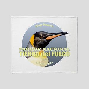 Tierra del Fuego NP Throw Blanket