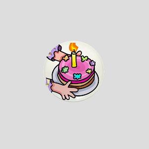 Take the Cake! Mini Button
