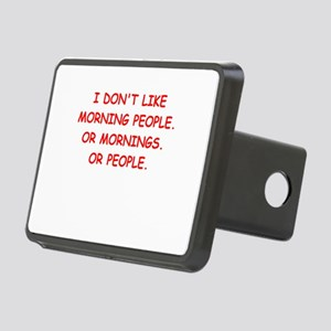 mornings Rectangular Hitch Cover