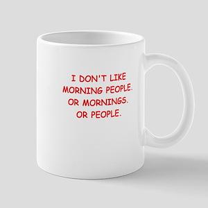mornings Mug