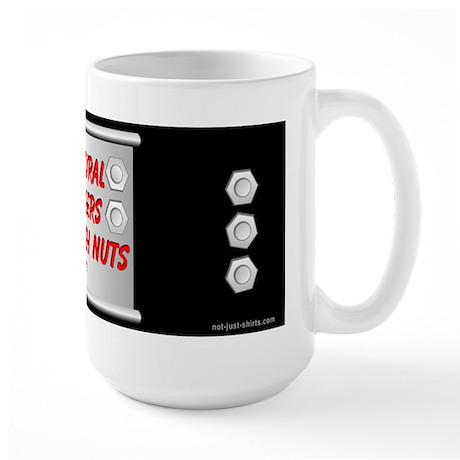 Structural Engineer Black Large Mug