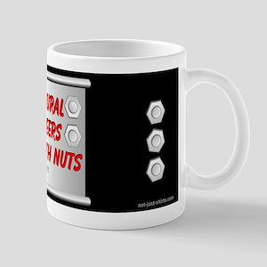Structural Engineer Black Mug