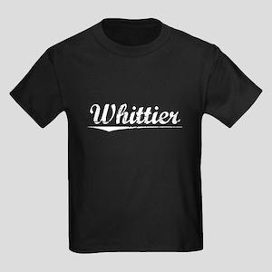 Aged, Whittier Kids Dark T-Shirt