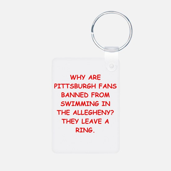 pittsburgh hater Keychains