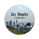 Los Angeles Round Ornament
