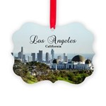 Los Angeles Picture Ornament