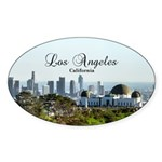 Los Angeles Sticker (Oval)