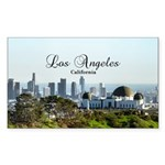 Los Angeles Sticker (Rectangle 10 pk)
