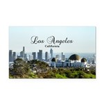 Los Angeles Rectangle Car Magnet