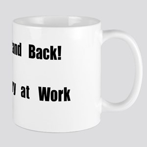 Stand Back! Curry at work Mug
