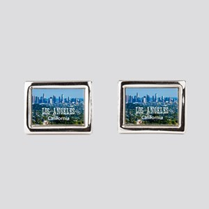 Los Angeles Rectangular Cufflinks