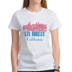 Los Angeles Women's Classic White T-Shirt