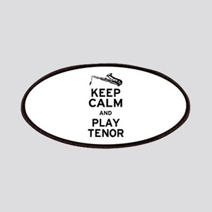 Keep Calm Play Tenor Patches