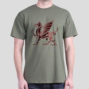 Red Dragon Dark T-Shirt