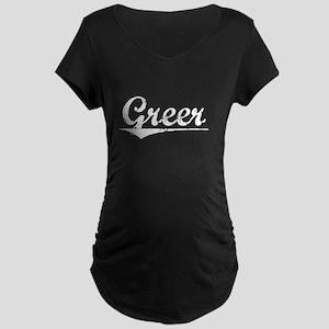Aged, Greer Maternity Dark T-Shirt