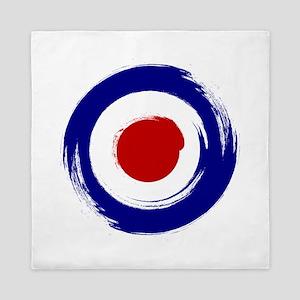 Paint stroke Mod Target design Queen Duvet