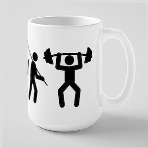 Weightlifting Large Mug