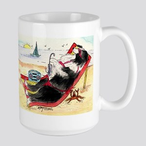 Border Collie Large Mug