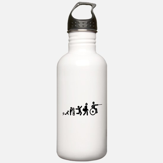 Wheelchair Fencing Water Bottle