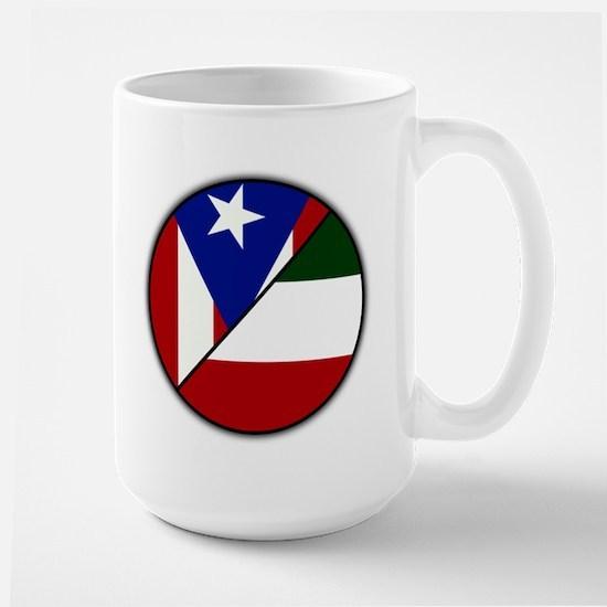 Italian / Puerto Rican Large Mug