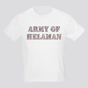 Army of Helaman (pink camo) Kids T-Shirt