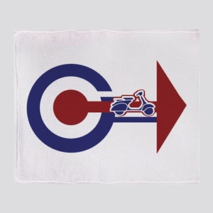 Retro Mod Target and scooter Arrows Stadium Blank