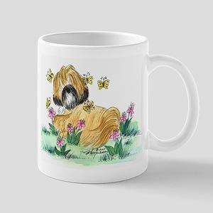 Lhasa Apso surrounded Mug