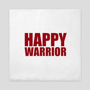 Happy Warrior Queen Duvet