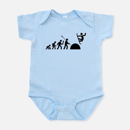 Snowboarding Infant Bodysuit