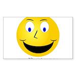 RapiTap Smiley Sticker (Rectangle 50 pk)