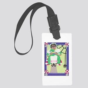 Little Miss Muffet Large Luggage Tag