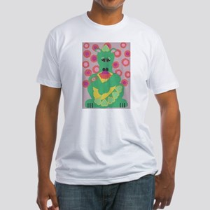 Sweet Dragon Fitted T-Shirt