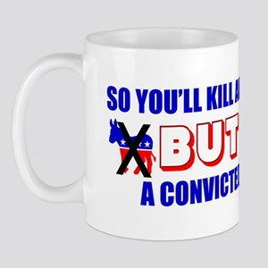 """Innocent baby or convicted murderer"" Mu"